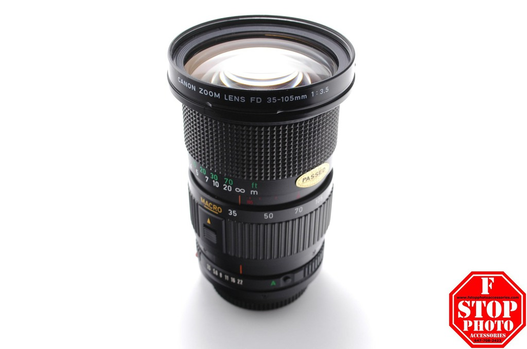 Used Canon FD Mount Lenses